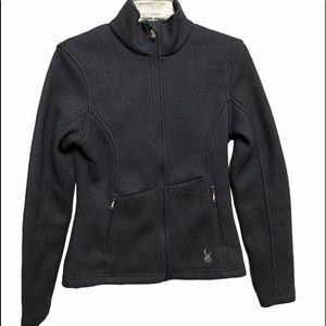 Spyder Gray Endure Core Sweater Full Zip Jacket